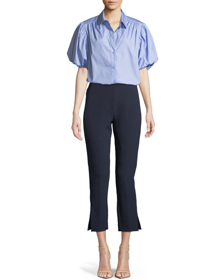 Marsh Cropped Skinny Trousers