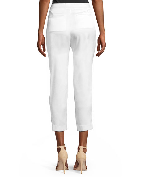 Garbo Skinny Cropped Trousers