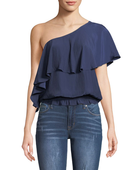 Emilia One Shoulder Top by Ramy Brook