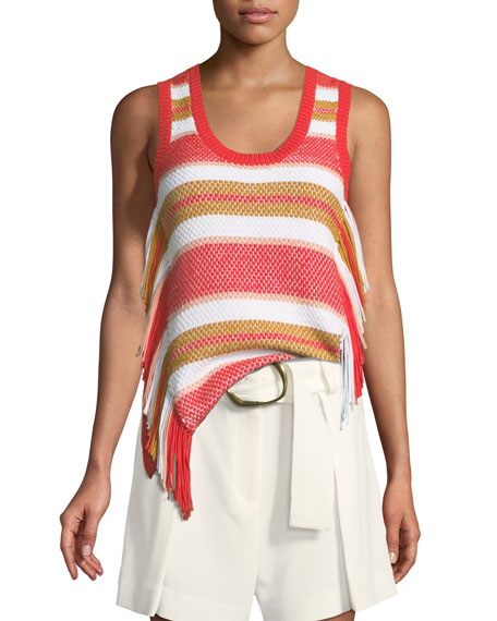 Derek Lam 10 Crosby Sleeveless Knit Top with