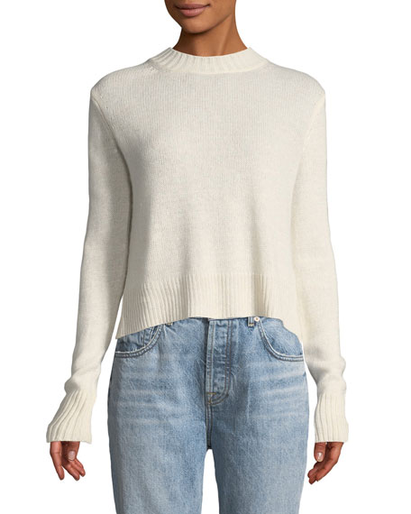 Derek Lam 10 Crosby Long-Sleeve Pullover Sweater with