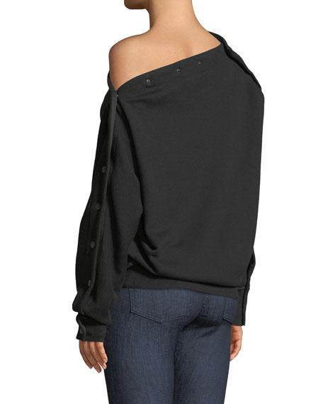 Kate Modular One-Shoulder Pullover