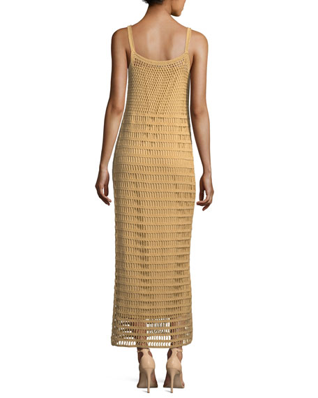 Edna Hand-Crochet Long Sleeveless Dress