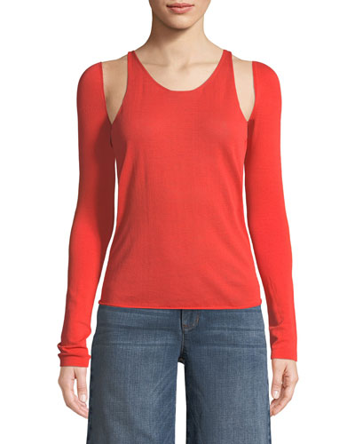 Re-Edition Tank Top with Detachable Sleeves