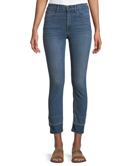 3x1 W4 Abigail Split Crop Jeans