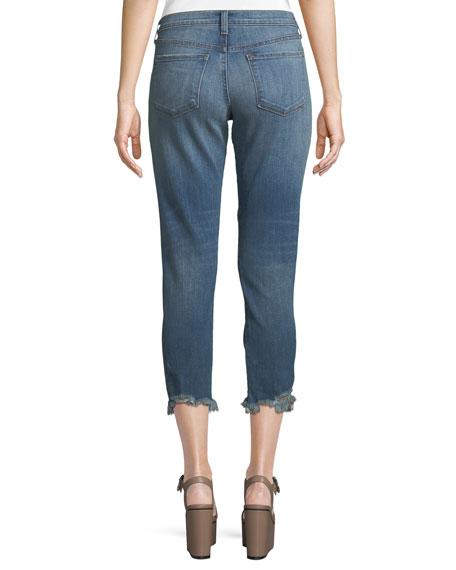 Sadey Slim Straight-Leg Jeans