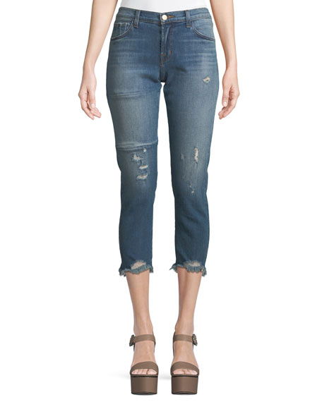 J Brand Sadey Slim Straight-Leg Jeans