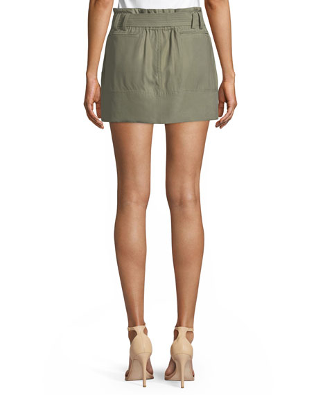 Eloise Twill Mini Skirt