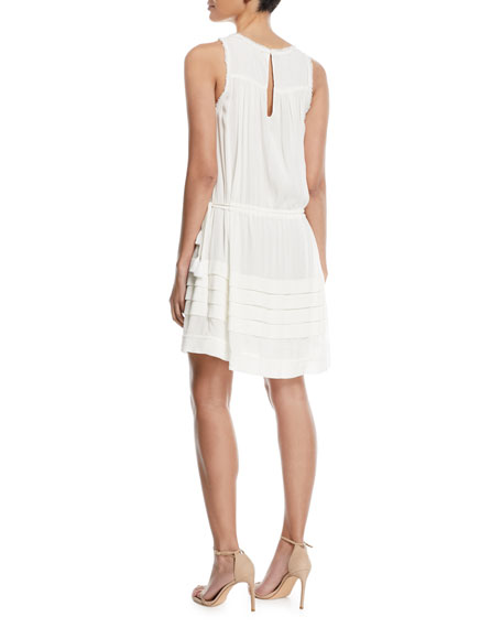 Melanie V-Neck Sleeveless Dress