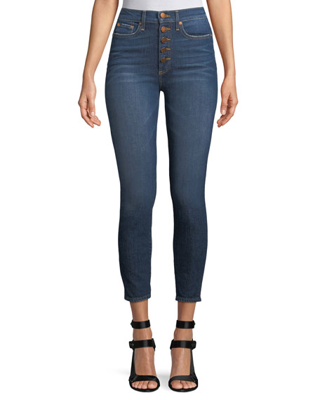 AO.LA by Alice+Olivia Good High-Rise Skinny-Leg Jeans