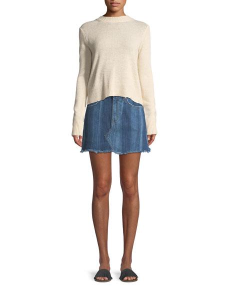 Cleo Denim Mini Skirt