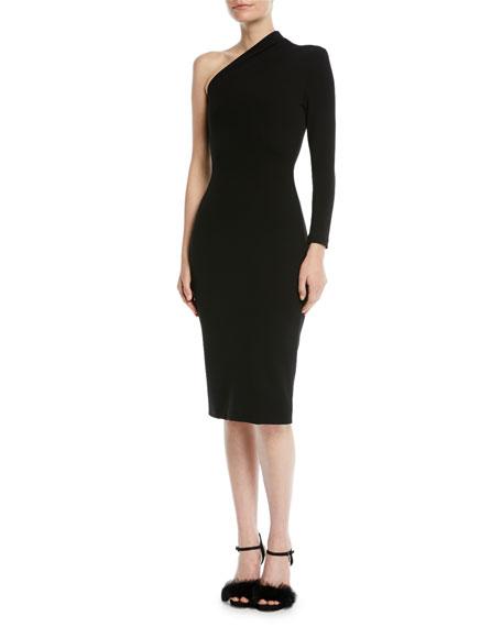 Ambre One-Shoulder Midi Dress