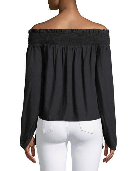 Cherita Off-the-Shoulder Top