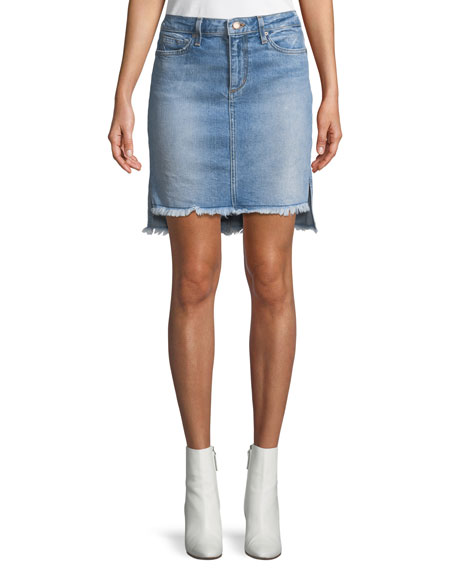 Joe's Jeans High-Low Denim Skirt