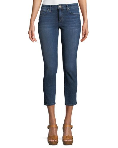 Madisen Icon Skinny-Leg Crop Jeans
