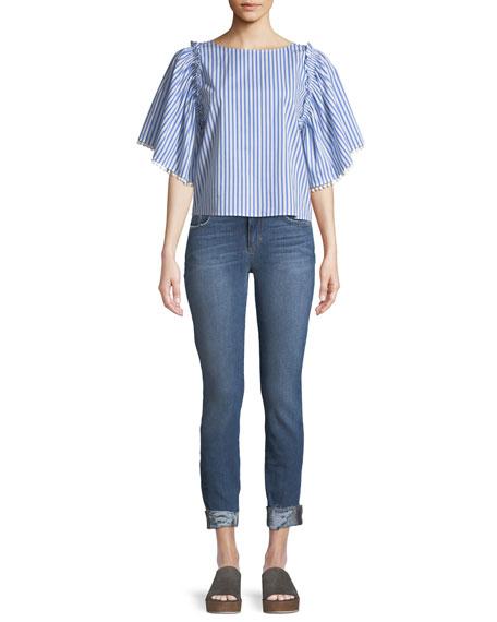 Icon Aisha Skinny Crop Jeans
