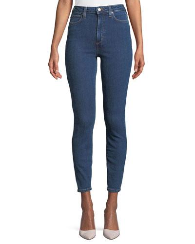 Bella High-Waist Skinny-Leg Ankle Jeans