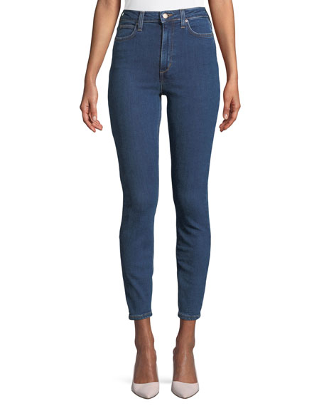Bella High-Waist Skinny Ankle Jeans
