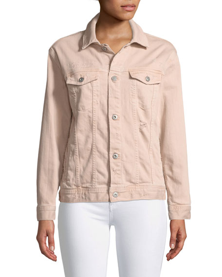 Nancy Button-Down Denim Jacket
