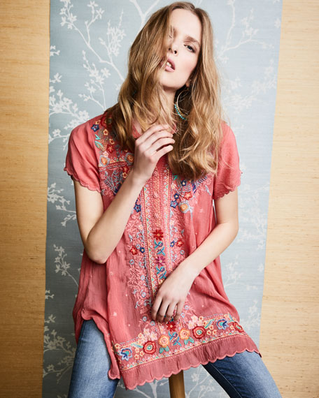 Mikones Embroidered Tunic