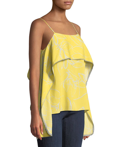 Popover Floral-Print Camisole