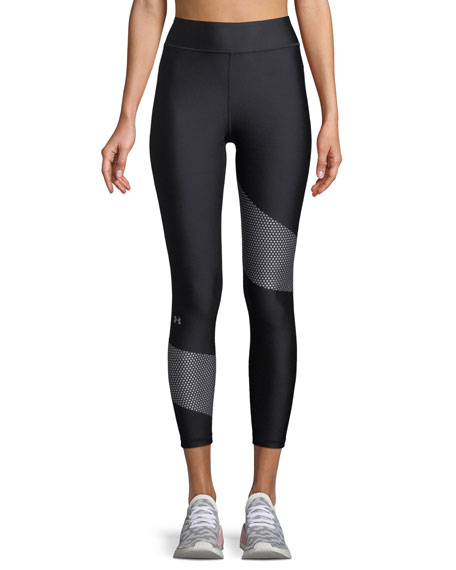 High-Waist Cropped Performance Leggings