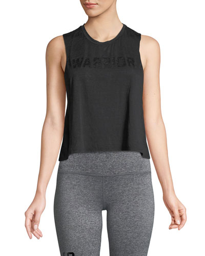 Warrior Active Crop Tank