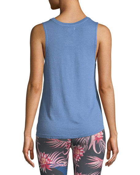 Great Love Muscle Graphic Tank