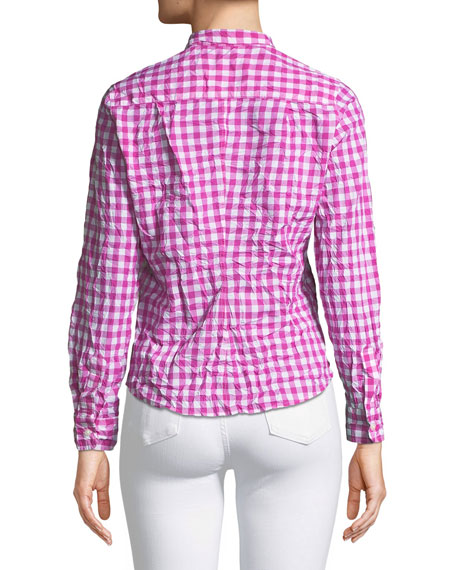 Barry Gingham Button-Down Shirt
