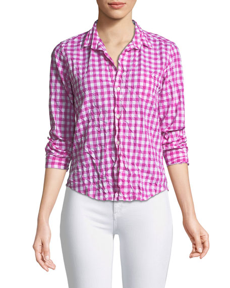 Frank & Eileen Barry Gingham Button-Down Shirt