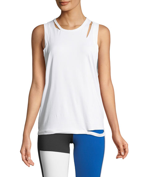Alala Carve Cutout Performance Tank