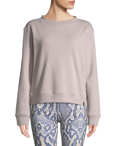 Albata Long-Sleeve Pullover Sweatshirt