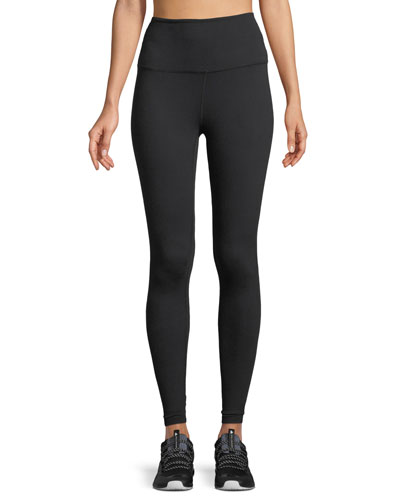 High-Waist Midi Leggings