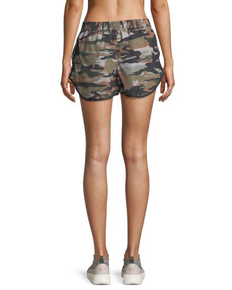 Striped Camo Running Shorts