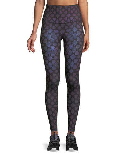 High-Rise Contoured Tech Performance Tights