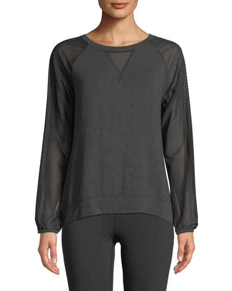 The North Face Vision Mesh Long-Sleeve Pullover Top