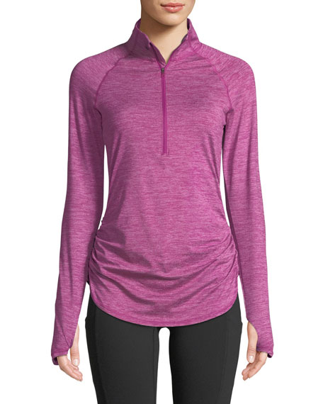 Motivation Half-Zip Performance Top