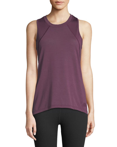 Reactor Mesh-Panel Tank Top, Purple