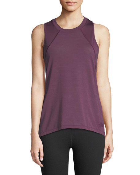 The North Face Reactor Mesh-Panel Tank Top, Purple