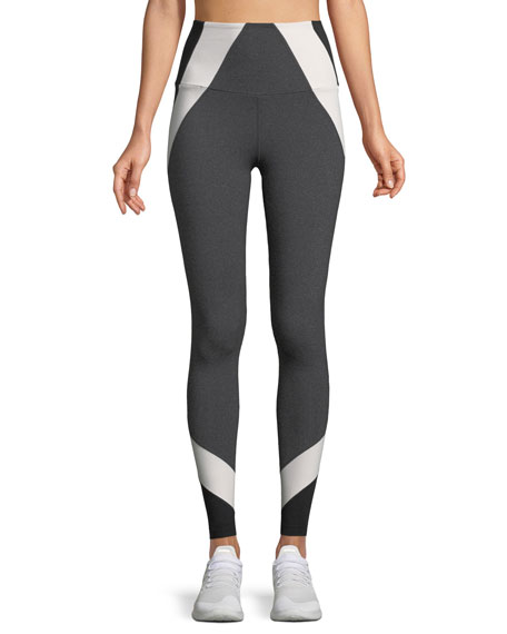 Around the Colorblock High-Waist Leggings