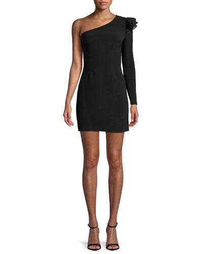 Ivy One-Shoulder Cocktail Dress