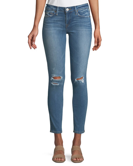 Hallie Skinny Mid-Rise Jeans