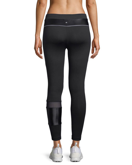 Castle Mid-Rise Performance Leggings