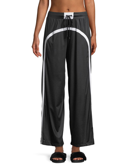 Koral Activewear Loop Wide-Leg Drawstring Pants