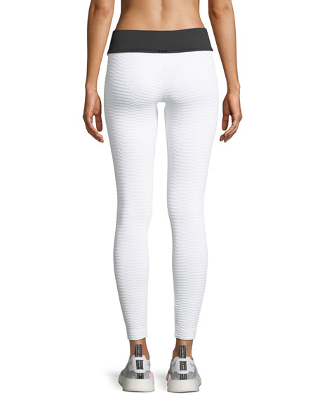 Image 2 of 3: Envy Cropped Performance Leggings
