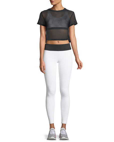Image 3 of 3: Envy Cropped Performance Leggings