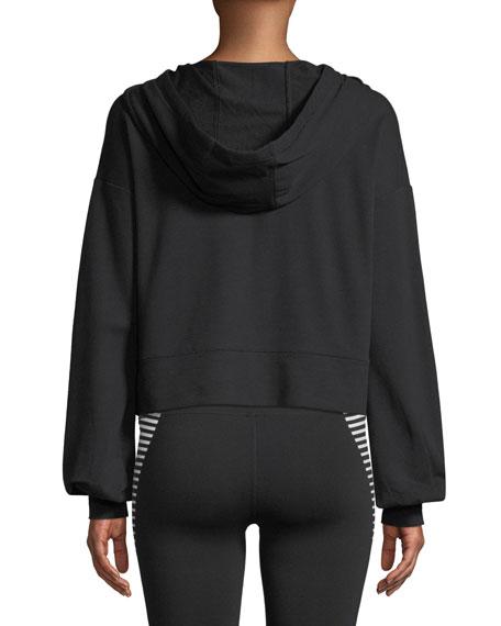 Social Long-Sleeve Hooded Top