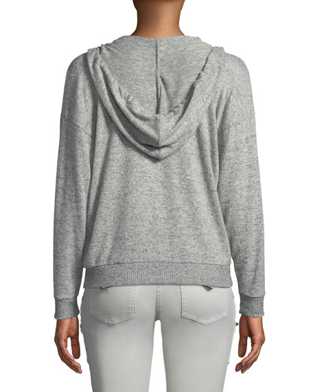 Kiku Hooded Pullover Sweatshirt