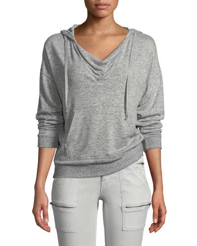 Kiku Hooded Pullover Sweatshirt