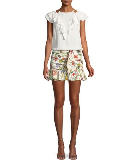 Lieanna Floral-Print Skirt